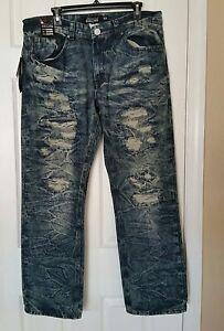 Men's NWT Diamond Dollar Vintage Jeans DD3021 36 X 30 $88
