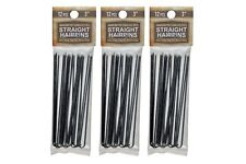 """Amish Made Heavy Duty  3"""" Stainless Steel Hairpins  3 PACKS"""