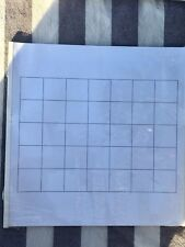 NEW Creative Memories Calendar Pages 12x12 Border Basic Grid, Sealed