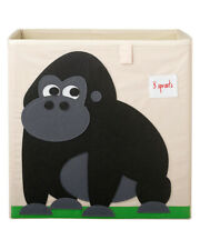 Contenitore porta giochi  gorilla cubo portaoggetti 100% poliestere