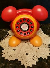 """Mickey Mouse Telephone DISNEY (REAL TELEPHONE) """"RARE"""" AND HARD TO FIND!"""