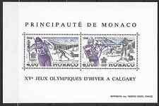 ---- FRANCE MONACO BLOC N°40 - NEUF ** AVEC GOMME D'ORIGINE - COTE 19€ ----