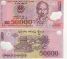 2 Million VietNamese Dong, USA Seller 40 x 50,000 Circ. Vietnam Banknotes VND