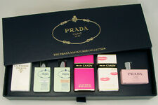 PRADA MINIATURES COLLECTION 6 MINI PERFUMES GIFT SET FOR WOMEN NEW IN BOX
