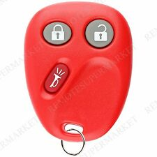 Replacement for 2003 2004 2005 2006 Cadillac Escalade ESV EXT Remote Fob Red