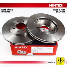 2X Mintex Avant Disque Frein MDC1897 pour Honda Jazz II 1.4 (IDSI) 1.2 i-DSI 1.3
