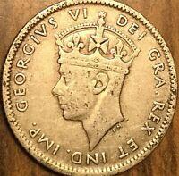 1941 NEWFOUNDLAND SILVER 10 CENTS COIN