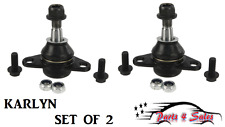 NEW Volvo S60 XC70 XC90 03-13 Set of 2 Front Suspension Ball Joints KARLYN NEW