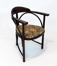 STUNNING VINTAGE  THONET 81/ RONDO THREE LEGGED  BENTWOOD  DESK  ARMCHAIR