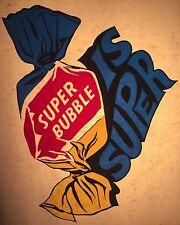 70's Super Double Bubble Gum Topps Wacky Packs Bazooka Joe vTg t-shirt iron-on