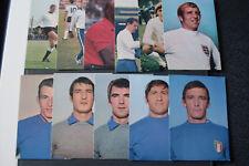 Top ! Bergmann Fußball Postkarten Sammelbilder WM 70 ungeklebt 1 Bild aussuchen