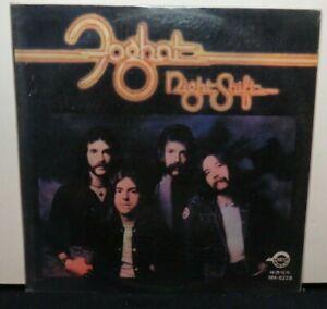 FOGHAT NIGHT SHIFT (VG+) HH-6228 JAPAN PRESSING LP VINYL RECORD