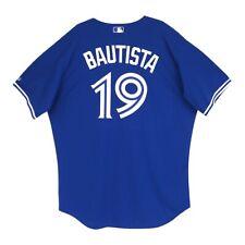 Jose Bautista Toronto Blue Jays Authentic On-Field Alt Blue Jersey 52 (2XL)