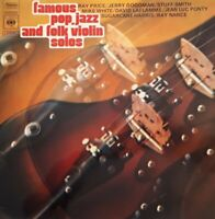 Various-Famous Pop,Jazz And Folk Violin Solos LP.1971 CBS S 64550.Ponty/Goodman+