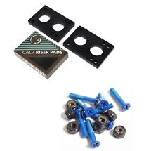 "Cal 7 1.25"" Blue Hardware + 1/4"" Riser Pads"