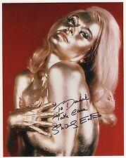 Shirley Eaton Hand Signed 8x10 Photo+Coa Sexy Goldfinger To David