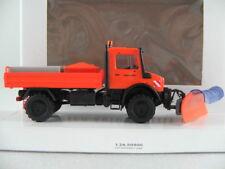 """Busch 51016 MB Unimog U 5023 """"Straßenmeisterei / Winterdienst"""" 1:87/H0 NEU/OVP"""