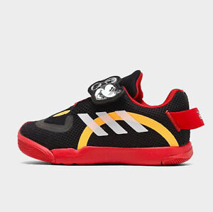 Adidas x Disney Active Play Mickey Mouse Infant Toddler Boy Sneaker Black Shoe