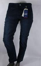 Pantalones de hombre en color principal azul 100% algodón