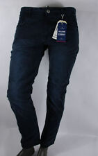 Pantalones de hombre azul 100% algodón