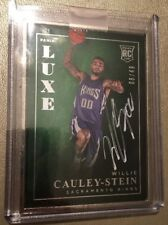 2015-16 Panini Luxe Willie Cauley-Stein Kings RC Rookie AUTO /49