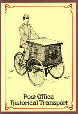 Royal Mail Postcard - Basket Carrier Tricycle - Unused #C11164