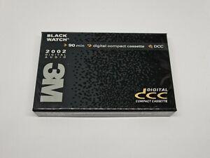 BlackWatch 3M Digital DCC Cassette Tape (Sealed)