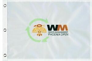 WASTE MANAGEMENT PHOENIX OPEN Embroidered Golf FLAG