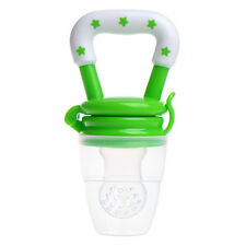 Baby Feeding Tool Infant Fresh Food Fruit Bite Nipple Safe Pacifier Kids Teether