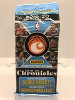 2019-20 CHRONICLES NBA BASKETBALL -CELLO/FAT PACK- ZION MORANT RC PRIZM 15 CARDS