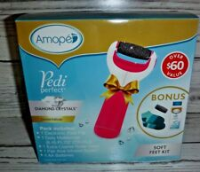 Amope Pedi Perfect With Diamond Crystals Soft Feet Kit Limited Edition w/Bonus