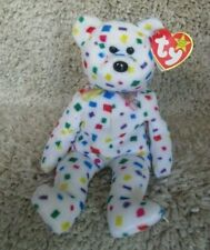"""Ty Beanie Baby """"Ty 2K"""" Bear  New Mint Condition. Retired  ERRORS. Ships Free"""