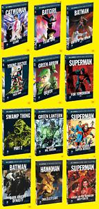 DC COMICS GRAPHIC NOVEL COLLECTION EAGLEMOSS BATMAN SUPERMAN WONDER WOMAN FLASH