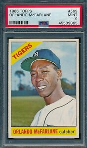 1966 Topps #569 Orlando Mcfarlane PSA 9, Only 5 Higher *OBGcards*