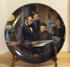 Knowles The Family Man Lincoln Man Of American Plate Fifth Issue