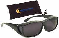 Fit Over Sunglasses Polarized Large Wear Cover Glasses Fishing Golf Mens Womens
