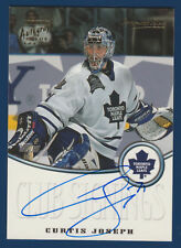CURTIS JOSEPH 1999-00 TOPPS PREMIUM PLUS CLUB SIGNINGS CS3 AUTO NRMNT+ 16535