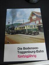 Kaspar, C. Die Bodensee-Toggenburg-Bahn fünfzigjährig Eisenbahn Bahn