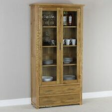 Unbranded Oak Display Cabinets