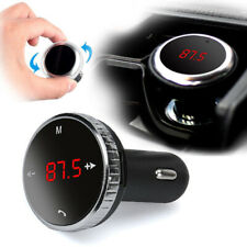 Wireless FM Transmitter Car For Android/iPhone 5V/2.1A WMA LCD Kit Practical