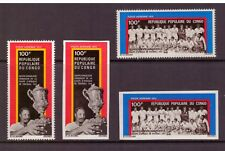 Congo (Brazzaville) MNH 1973 Africa Football Cup sets imper. &perf. mint stamps