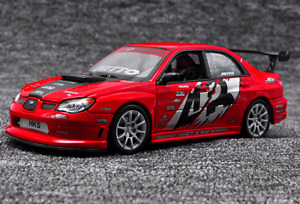 Welly 1:24 Subaru Impreza WRX STI APR VERSION Diecast Model Racing Car WITH BOX