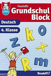 Tessloffs Grundschulblock Deutsch 4. Klasse