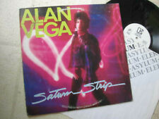 "ALAN VEGA 1983 ""Saturn Strip"" US WHTE LBL PROMOTIONAL POP/PUNK LP ?AUTOGRAPHED?"