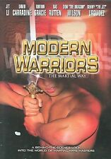 MODERN WARRIORS rare Martial Arts training dvd CYNTHIA ROTHROCK Jet Li NEW