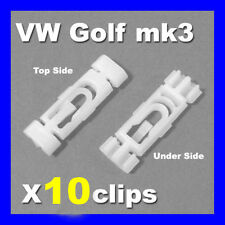 VW VENTO GOLF MK3 ROOF GUTTER TRIM STRIP MOULDING CLIPS PLASTIC FASTENERS
