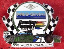 RARE PIN'S F1 FORMULA ONE MILD SEVEN BENETTON WORLD CHAMPIONS 1994 EGF MFS