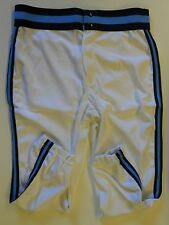 "NOS Vtg 80s Wilson Baseball Pants Adult Medium 29""-31"" White Blue Stripes USA"