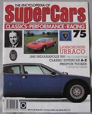 SUPERCARS magazine Issue 75 Featuring Lamborghini Urraco cutaway, Preston Tucker