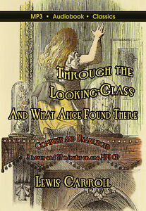 Through The Looking-Glass - MP3 Audiobook in DVD case